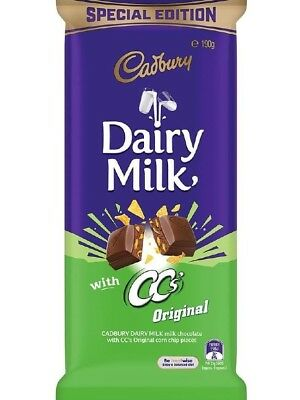 Cadbury Special Edition with CC's chips original block 190G