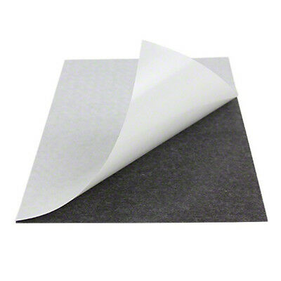 Self Adhesive A4 Magnetic sheets, 0.5 or 1.5mm thick, sticky back, magnet crafts