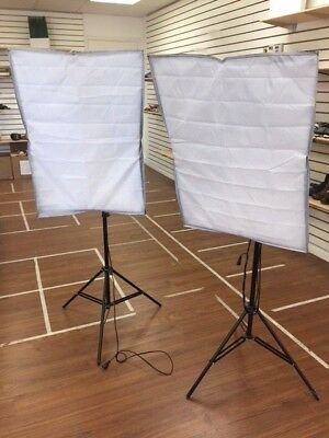 High Reflection Softbox & Stand (X2) for photography
