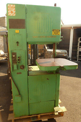 Grob Band Saw NS-18 multiple speed gearbox metal wood cutting Vertical Bandsaw