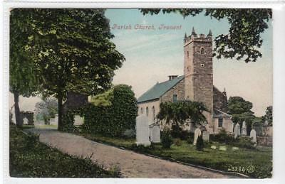 PARISH CHURCH, TRANENT: East Lothian postcard (C36071)