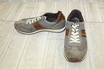 efe2aed04 TOMMY HILFIGER Modesto Sneaker - Men s Size 9.5 Gray Brown DAMAGED ...