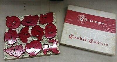 Vintage Educational Products Company Christmas Cookie Cutters
