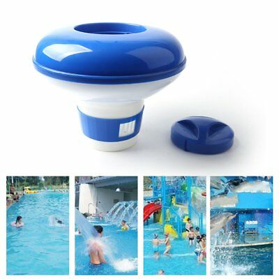 Automatic Chlorine Chemical Tablet Floating Dispenser for Swimming Pool Spa QC