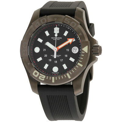 Victorinox Dive Master 500 Black Dial Silicone Strap Men's Watch 2415551