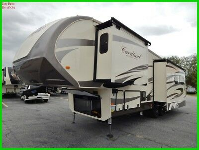 18 Forest River Cardinal 3350RL New Towable Fifth Wheel