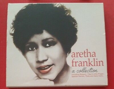 The Late Great Queen of Soul 👑 Aretha Franklin: A Collection VERY RARE VG CD 🎵