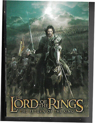 Lord Of The Rings Lotr Return Of The King Complete 90 Card Base Set  2003 Topps