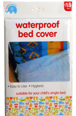 Beautiful Beginnings Waterproof Bed Cover Fitted Mattress Protector 200 x 100cm