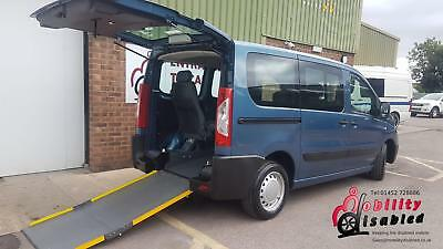 2012 Peugeot Expert Up Front Passenger Wheelchair Disabled Accessible Vehicle