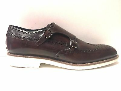 Scarpe Casual Inglese Uomo Mario Bruni Originale 59742 Pelle Shoes P e New 437d22c0765