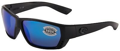4f0d824392a Costa Del Mar Tuna Alley Sunglasses TA-01-OBMGLP 580G Blackout Blue  Polarized