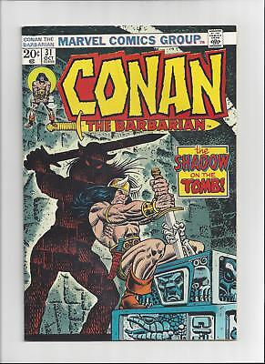 Conan the Barbarian Issue: #31 Cover Date: October, 1973- Very Fine