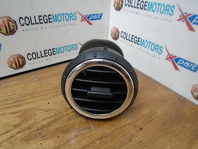 Rover 25 Rover 45 Mk2 04-06 Black & Chrome Air Heater Vent Good Condition Used