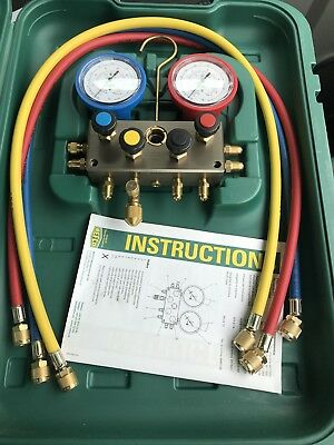 REFCO M4-3-DELUXE-DS-R410a MANIFOLD