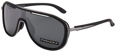 6158cd42ed NEW OAKLEY OUTPACE SUNGLASSES BLACK ICE   PRIZM BLACK OO4133-0226 ...
