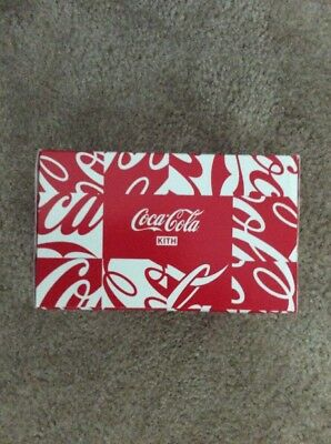 Kith x Coca cola 6 Pack Of Coke Cans New Limited Collectors Sold Out Rare Sealed