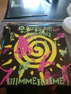 "DJ Jazzy Jeff & The Fresh Prince - Summertime 12"" Vinyl"