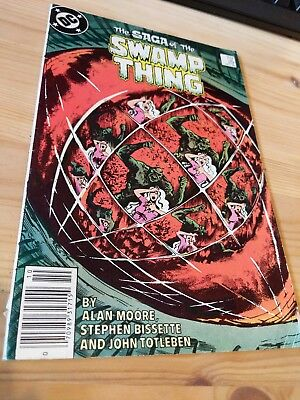 The Saga of the Swamp Thing #29 Oct 1984 DC Comics