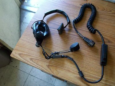 Military Radio Microphone Headset - H-182/PT / Audiosears Corp.