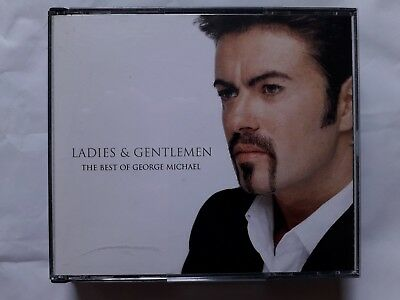 George Michael Ladies & Gentlemen  Best Of Uk 2 Cd Fatbox Epic 1998 Wham  Queen