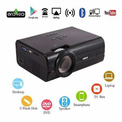Portable 7000Lumen Movie 1080P HD LED Home Theater Projector XK