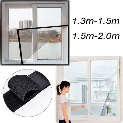Insect Window Screen Mesh Net Fly Bug Mosquito Moth Door Tape 1.5*2m / 1.5*1.3m