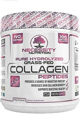 Collagen Peptides Protein Powder Pure Hydrolyzed Grass Fed Pasture Keto Paleo