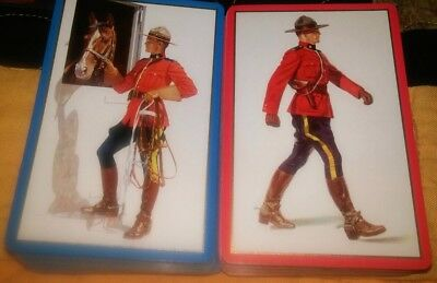 Double Deck Of Canadian Mounted Police With Horse - Congress 606