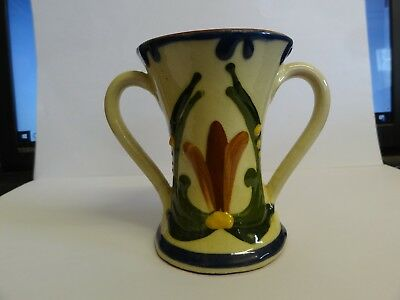 Longpark Torquay Vase, Good Condition Motto Ware