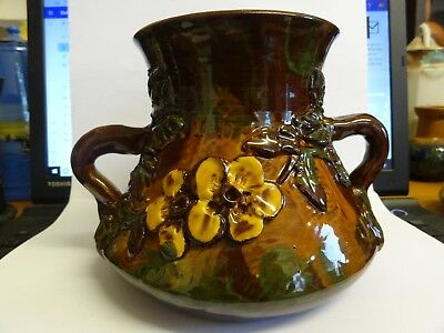 Longpark Torquay Vase Pot, Good Condition , Devon , Dorset Flowers Rare