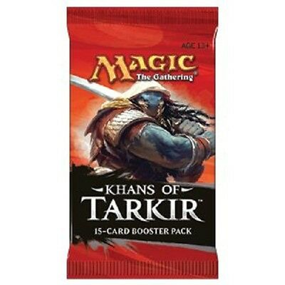 TCG Magic the Gathering 10 Booster Khans of Tarkir englisch