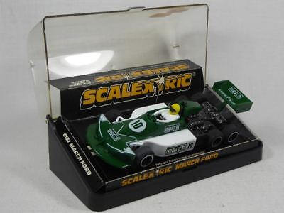 Scalextric March Ford 6-wheeler 1:32 Slotcar C/131 TOP/OVP (F3729)