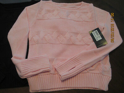 NWT Bloch Fashion Dance Girl's Cable Sweater - Ballet - Black or Pink CS, CM, CL