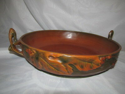 ANTIQUE ROSEVILLE Large Bowl #415    10""