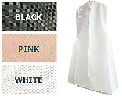 Monster Extra Large White Black Pink Breathable Wedding Gown Bag Garment Bag