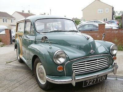 Morris Minor 1000 Traveler Resent Restoration