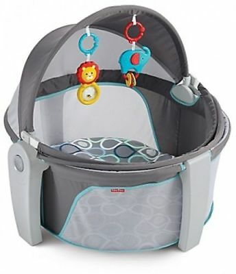 Fisher-Price Bubbles On the Go Baby Dome Travel Portable Playset Develop Skills