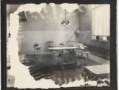 Yale Hospital treatment room New Haven Ct. photo from glass negative