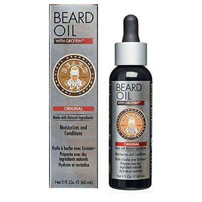 Beard Oil with Grotein by Beard Guys - With Natural Oils, Vitamins & Extracts