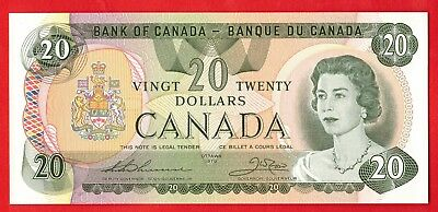 1979 $20 Bank of Canada Note Thiessen-Crow 52194590405 - Choice UNC