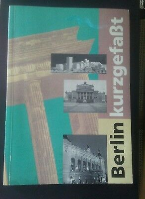 Vintage German Travel Guide Map Book Tourist Attractions Written in German