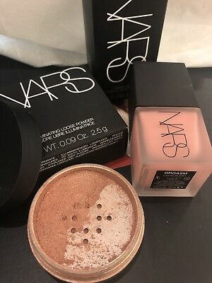 NARS ORGASM Illuminating Loose Powder & Liquid Blush! NIB