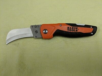 NEW Klein Tools 44218 Cable Skinning Utility Knife Replaceable Heavy Duty Blade