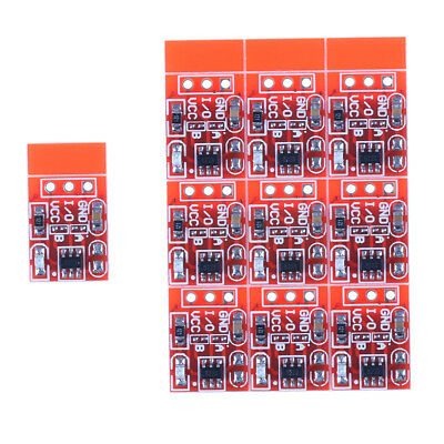 10Pcs TTP223 Capacitive Touch Switch Button Self-Lock Module PipeJB