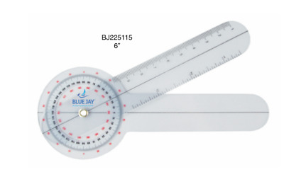Blue Jay/Complete - Take A Range Check Plastic 360* Goniometer Physical Therapy
