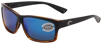 1f1cfd51cd Costa Del Mar Cut Sunglasses UT-52-OBMGLP 580G Coconut Fade Blue Polarized  Lens