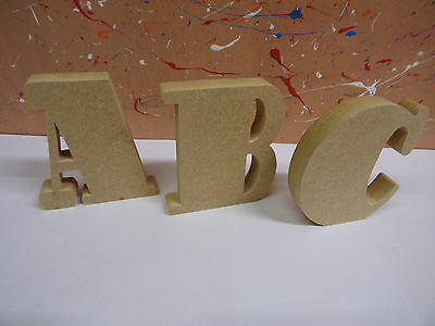 """18mm mdf wooden freestanding letters 4""""6""""8""""10""""12"""" STOUT FONT CHEAPEST ON EBAY"""