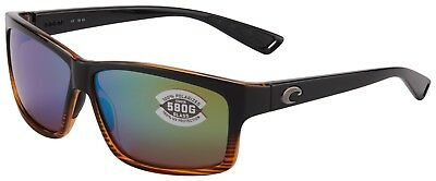 2981513340 Costa Del Mar Cut Sunglasses UT-52-OGMGLP 580G Coconut Fade Green Polarized