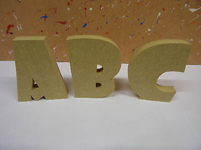 """18mm mdf wooden freestanding letters 4""""6""""8""""10""""12""""SHOWCARD FONT CHEAPEST ON EBAY"""